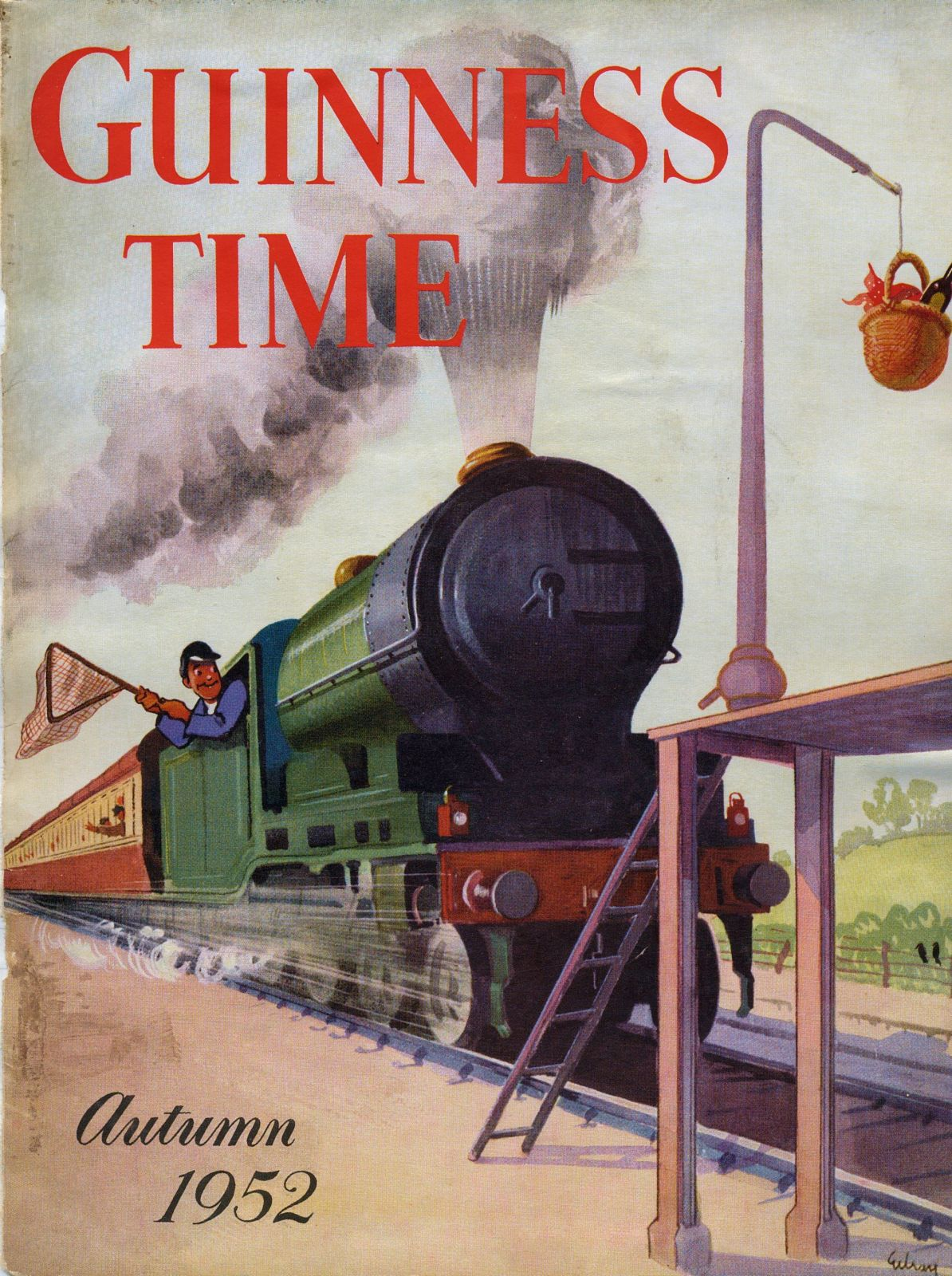 Guinness Time Autumn 1952