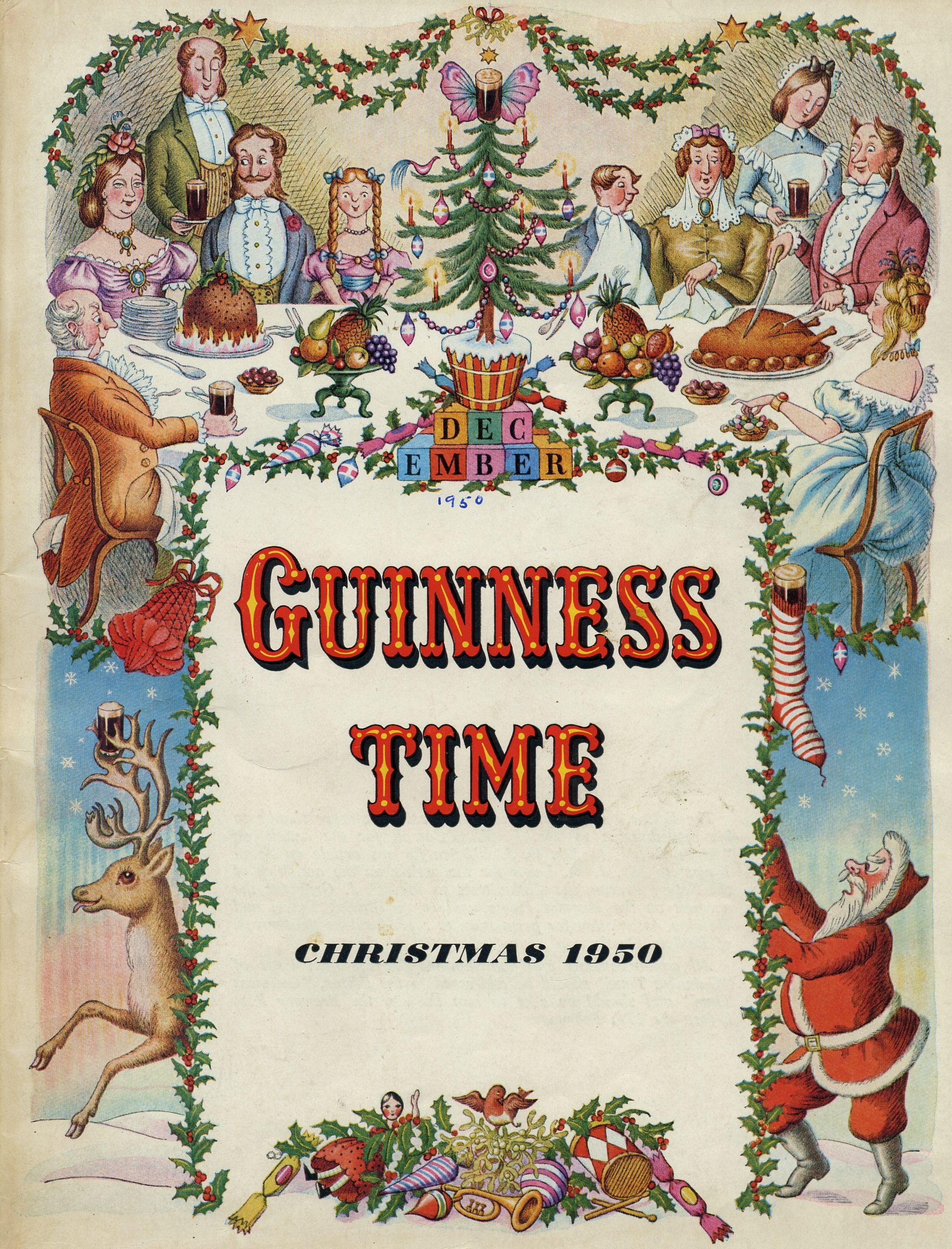 Guinness Time Christmas 1950