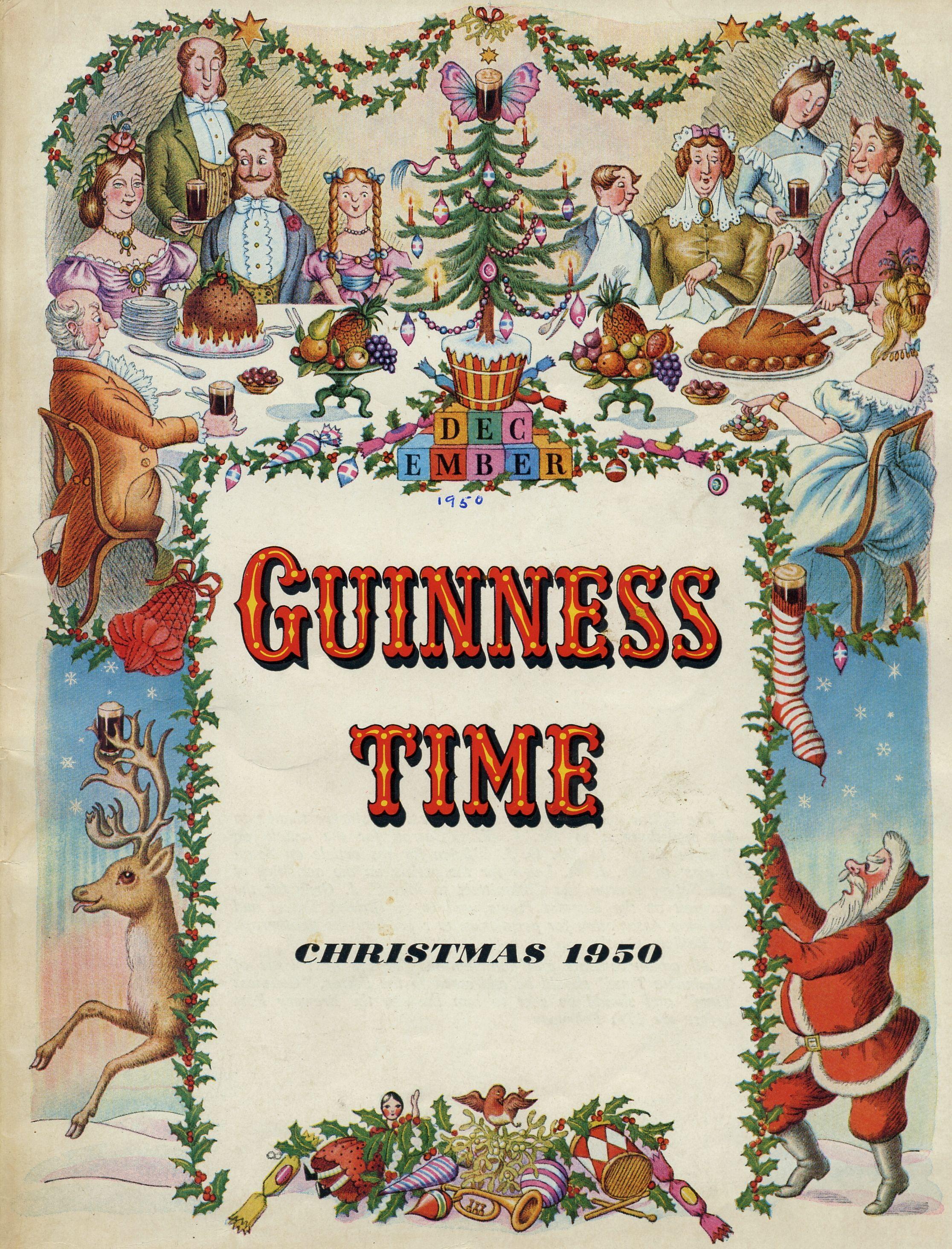 Guinness time christmas 1950