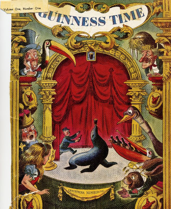 Guinness Time Christmas 1947